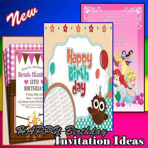 App Insights HAPPY Birthday Invitation Ideas