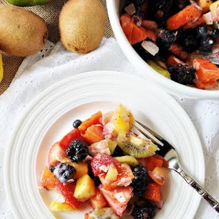 Healthier Vegan Ambrosia Fruit Salad
