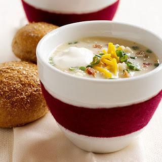 "Loaded ""Baked Potato"" Soup."