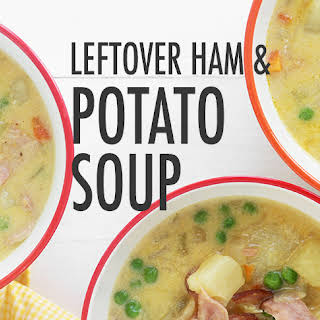Leftover Easter Ham and Potato Soup.