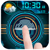 Fingerprint Lock with World Weather&Clock