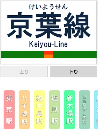 京葉線発車メロディー