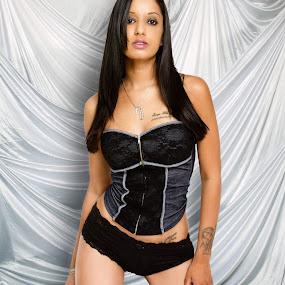 Nikita Lingerie Shoot by Trent Sluiter - People Portraits of Women ( studio, canon, sexy, fedora media, 7d, lingerie, female, boudoir, trent sluiter, modelling, women )