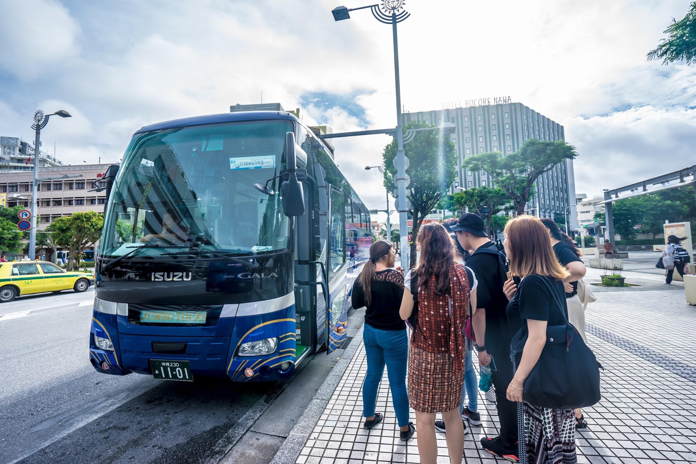 ジャンボツアーズ 沖縄 Hip-Hop Bus1