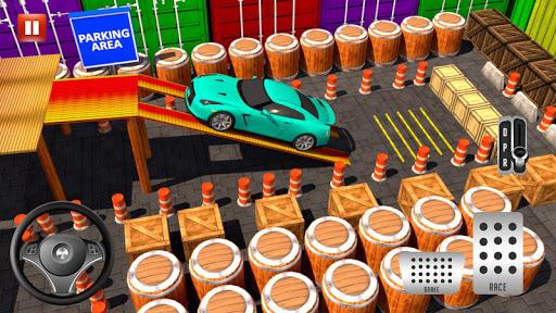 Modern Car parking simulator –Crazy car stunt 2019 screenshot 1