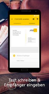 FUNCARD Postkarten-App - náhled