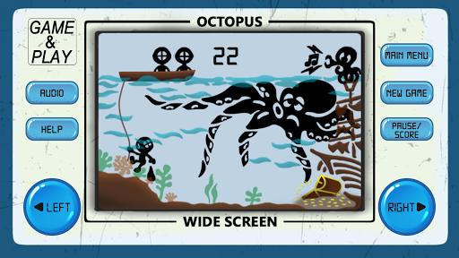 OCTOPUS 80s Arcade Games  captures d'écran 1