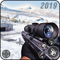 Snow Sniper Shooter 2019 : Fierce War missions icon
