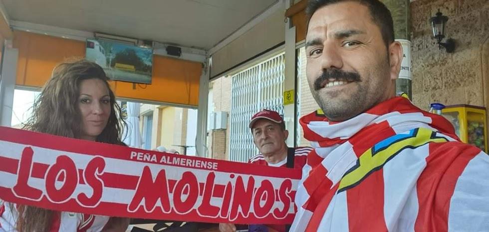 Nadie deja de apoyar al Almería ni en los momentos más difíciles.