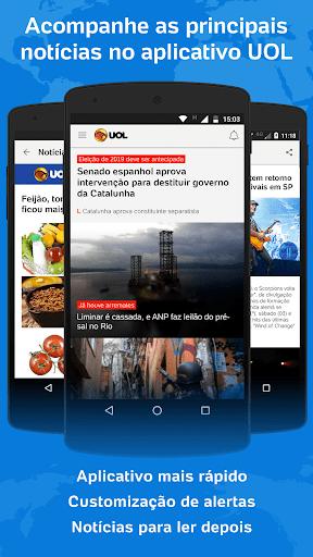 UOL - Notu00edcias em Tempo Real 2.32.2 screenshots 1