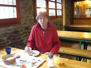 Photo: unser Holländischer Freund Georg, der mehrtägiger Gast der Hütte war.
