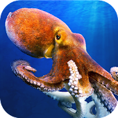 Octopus Underwater Simulator - dive in ocean!