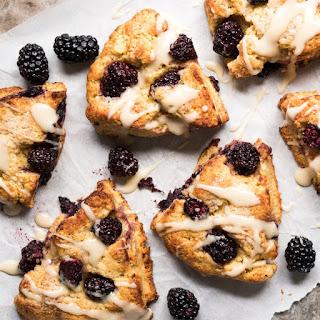 Gluten Free, Paleo & Keto Blackberry Scones Recipe