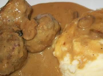 Pretty darn good meat~zaa balls