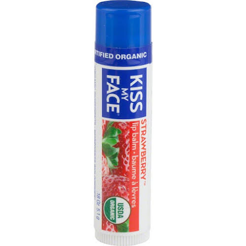 Kiss My Face Organic Lip Balm: Strawberry