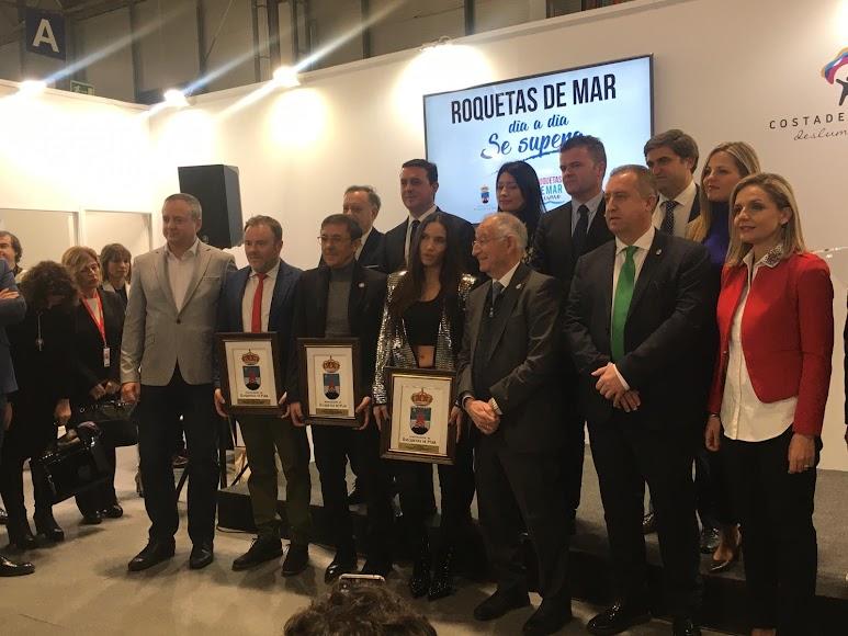 Premiados en Fitur por el Ayuntamiento de Roquetas.