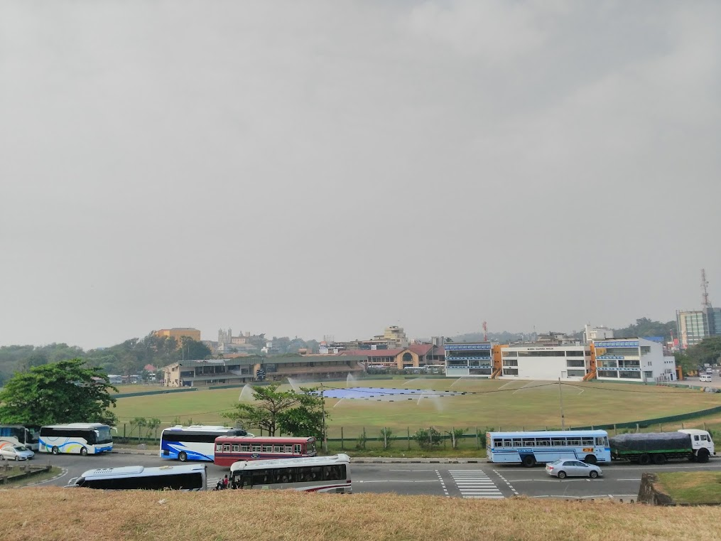 Galle Cricket Stadium, just outside the Old Dutch Fort