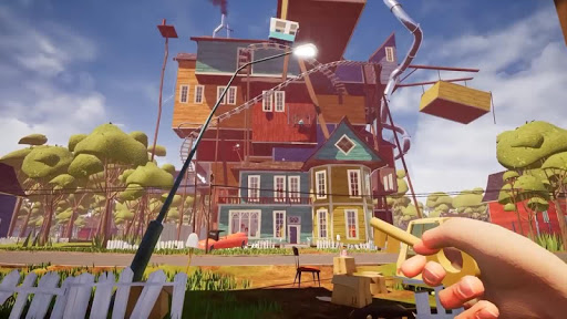 Hello Neighbor  trampa 4