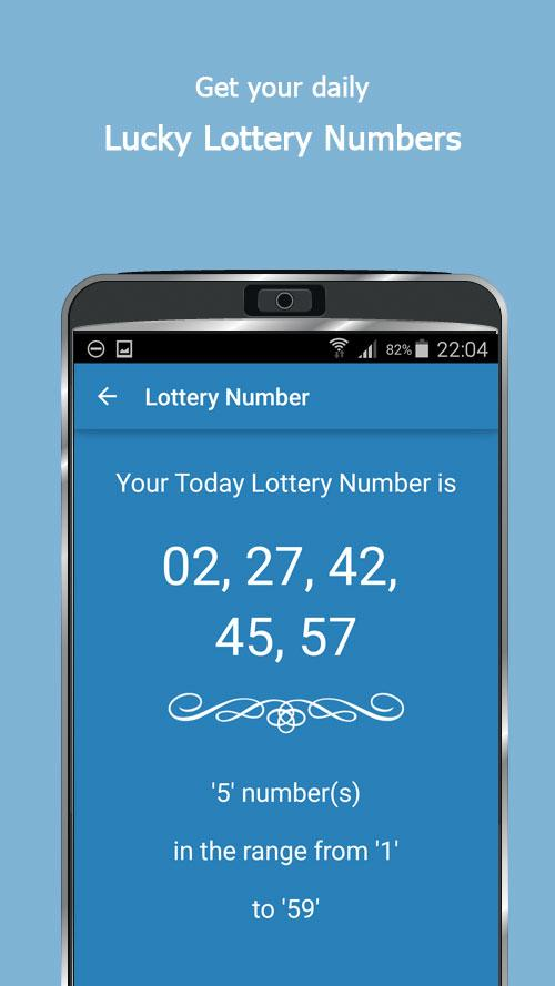 Today Lucky Numbers- screenshot