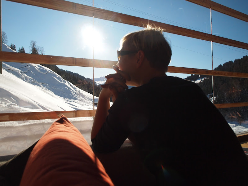 Photo: Enjoying the view.