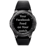 Gear S2/S3 Social Feed Icon