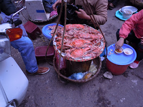 Photo: Portable crab cafe