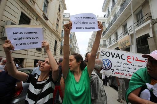 Algerian VW partner held over graft claims