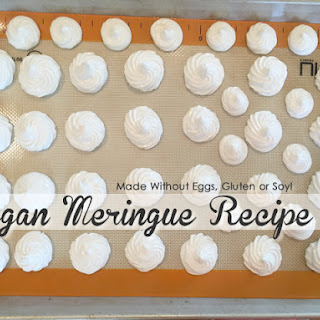 Vegan Meringue Recipe - Chickpea Brine (Aquafaba).