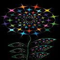 Multicolor Light Flower LWP icon