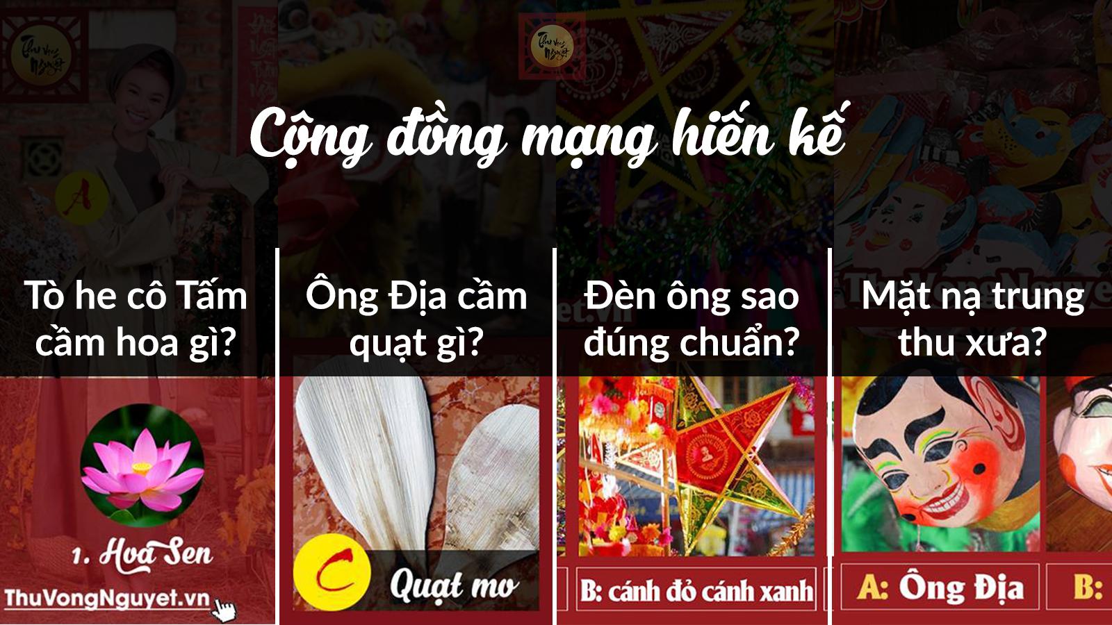 """Cộng đồng mạng liên tục chung tay """"hiến kế"""" cho sự kiện Thu Vọng Nguyệt"""