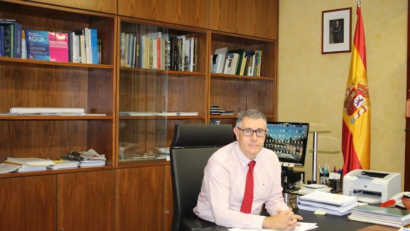 Mario Urrea Pdte. de la Confederación Hidrográfica del Segura