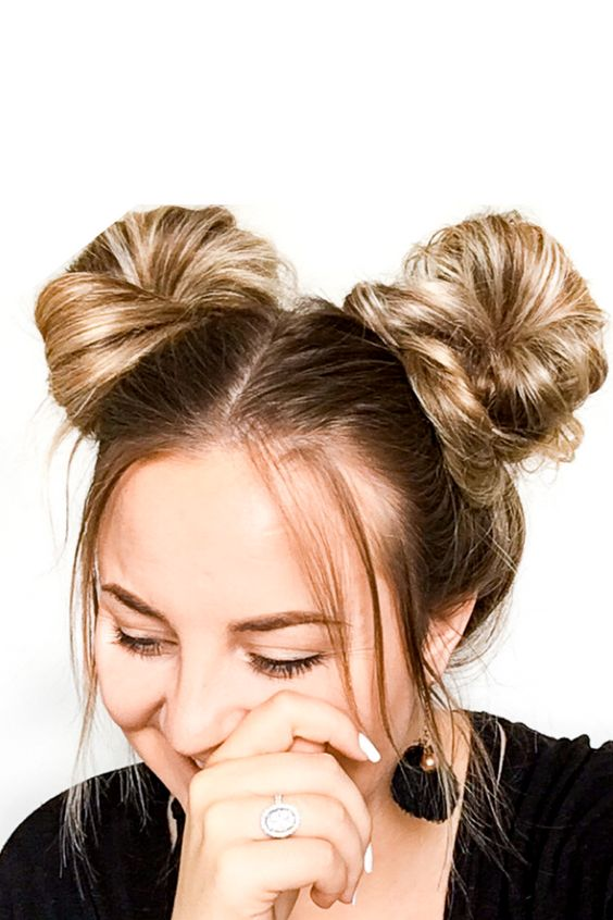 hairstyles-for-long-hair-spacebuns