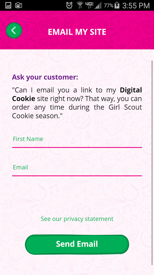 digital cookie mobile app   android apps on google play