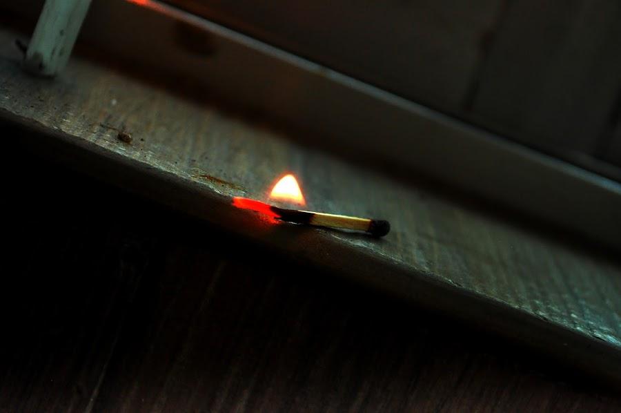 by Shatoddruh Saha - Abstract Fire & Fireworks ( #fireworks, #lowlight, #matchstick, #nikon, #flame,  )