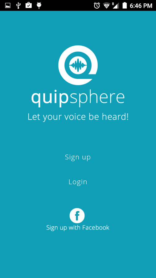 QuipSphere- screenshot