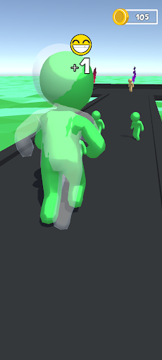 New Run Race Color 3D: Running Race Game screenshot 1