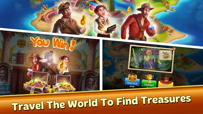 Solitaire Treasure Hunt Screenshot