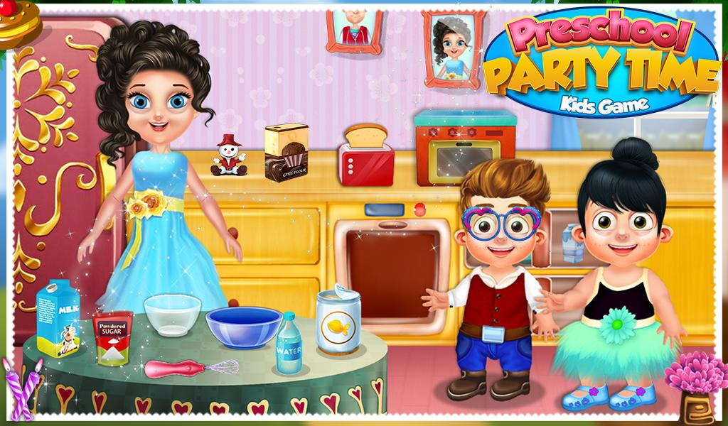 Preschool Party Time Kids Game- screenshot