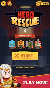 Hero Rescue MOD (Unlimited Hearts/No Ads) 5