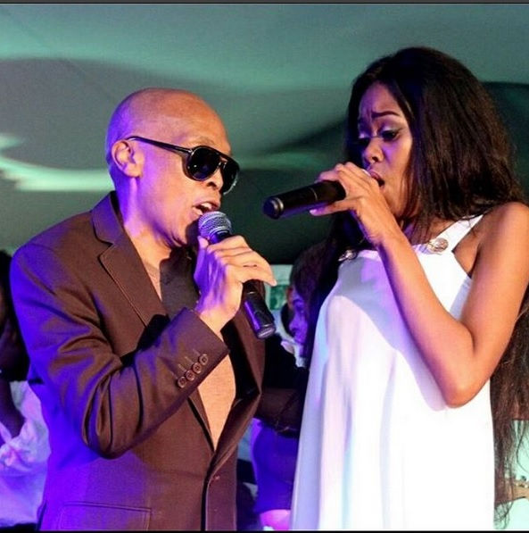 Robbie Malinga and Naima Kay