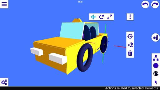 3D Designer - 3D Modeling screenshot 1