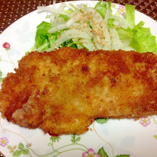 Fried Pork Cutlet (Low Oil Recipe!)