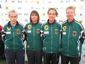 Photo: Germany. Bianca Oberweg, Stefanie Kern, Nicole Gundert-Greiffendorf and Nicole Warnecke. (Photo: Bengt Svensson)