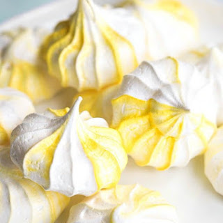 Lemon Meringue Cookies.