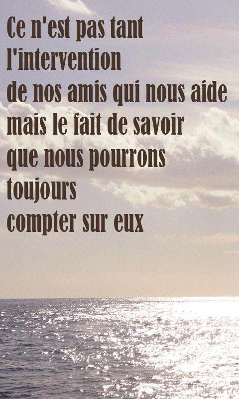 Top Citations d'amitié en français – Applications Android sur Google Play LQ99