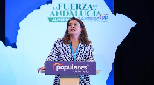 Carmen Crespo será la número 3 del PP de Almería