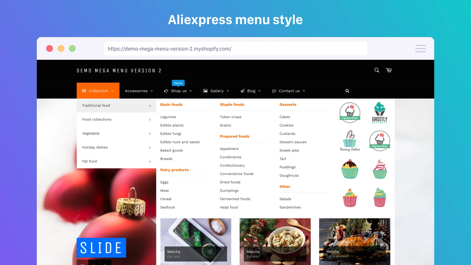 best Shopify menu app