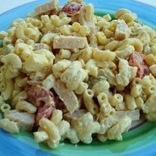 Main Dish Macaroni Salad.