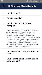 Maaş Hesapla - 2018 - náhled