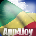 Congo Flag Live Wallpaper icon
